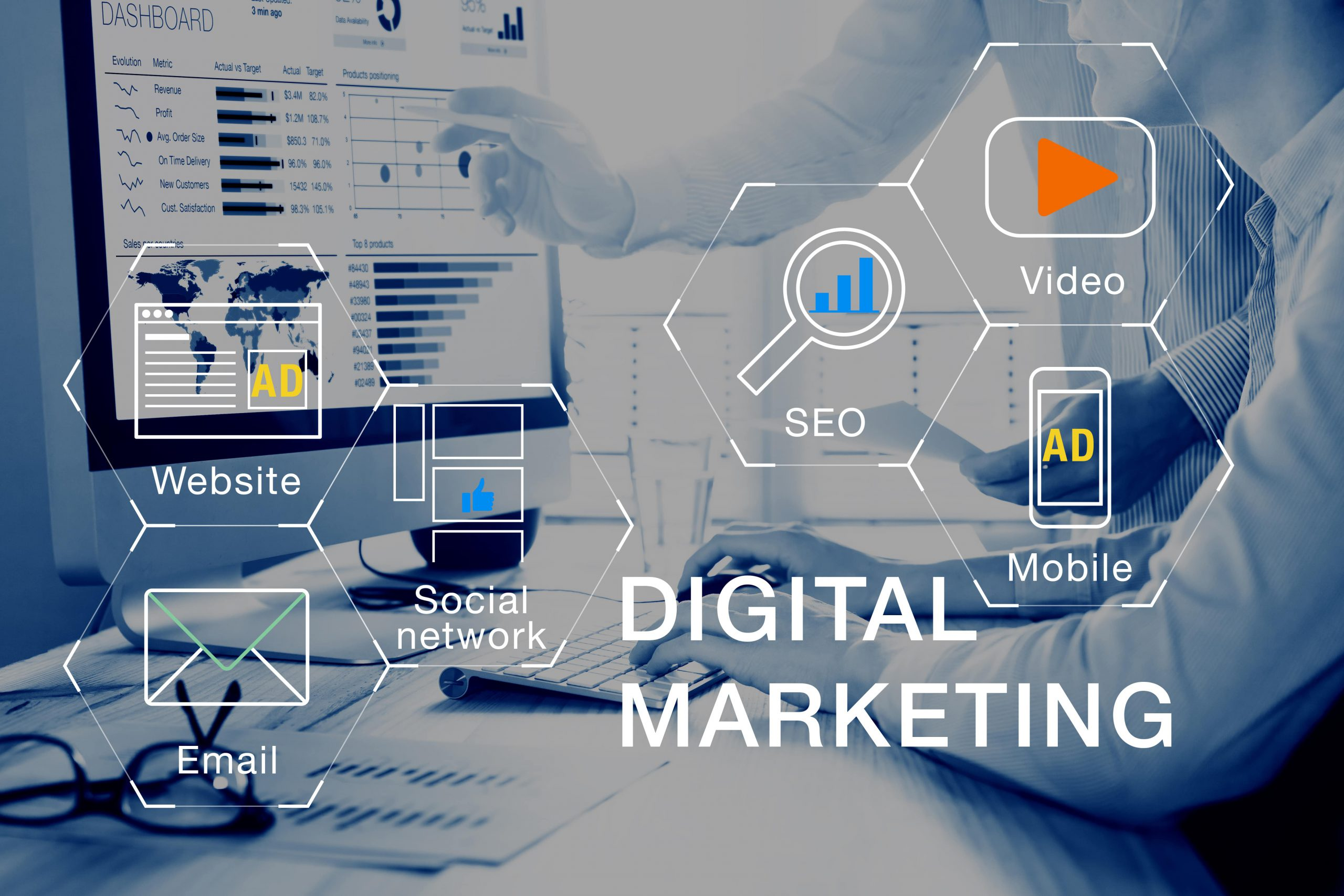 digital marketing, easy services club