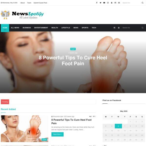 news spotify